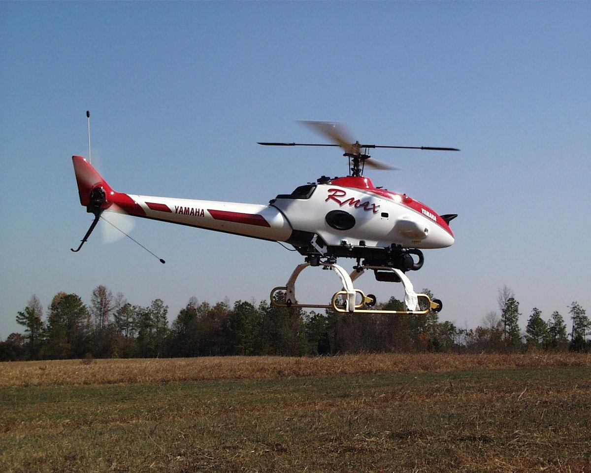Yamaha Ag Drone Spray